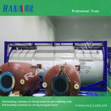 Factory directly offer high-purity 40 feet ISO tank steel lining PTFE/ PFA/ ETFE anticorrosive equipment with long Service life 15-20 years Industrial Chemical storage Tank movable portable container and pressure vessel