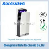 new design hotel bathroom products stainless steel jet air hand dryer machine