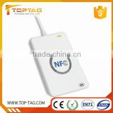 2016 promotional 13.56mhz contactless rfid nfc card reader ACR122 U