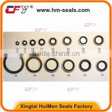 Silver Or Copper Color Bonded Washer O Ring Seals