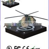 Levitating led illuminate helicopter model toys , Flying Helix helicopter toys for adult