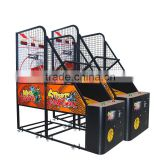 Arcade Basketball shots game machine for playground/basketball Mania machine