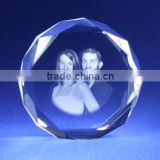 Crystal souvenir 2d photo engraving block crystal event souvenirs