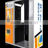 COOL CLAP High Quality touch screen ID photo booth kiosk with printer and camera