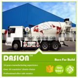 Widely used 3 cubic meters Dasion concrete mixer truck
