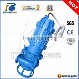 BJM High Capacity Hard Metal Submersible Sand, Sludge, Slurry Pumps with Agitator