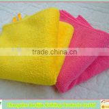 High absorption colorful multiuses household accessories microfiber towel set wholesale