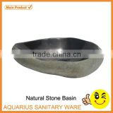 made in china natural river stone garden outdoor sink