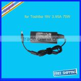 19V 3.95A Original Laptop 90W AC Power Adapter Charger for TOSHIBA PA3715U-1ACA 5.5x2.5mm