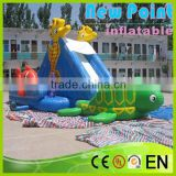 New Point inflatable water slides for summer,giant amusement inflatable slide,inflatable water slides