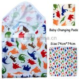 Wholesale China Baby changing mat,waterproof,comfortable minky outer changing pads