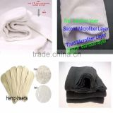 2016 bamboo charcoal/ microfiber / bamboo / hemp cloth diaper inserts for choice