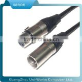 HIFI Cable Cannon Male to Female Full Metal Advanced Terminals Pure OFC Oxygen Free Copper
