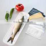 Supermarket Display With Absorbent Pad Disposable Plastic Fish Tray