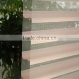 Double layer shangri-la sheer horizontal roller window curtain blinds for outdoor clear roller blinds decoration home