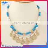 CHINA SUPPLIER FASHION DESIGN plastic bead necklace