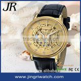 alibaba in spain fashion flying tourbillon transparent automatic pure gold wrist watches