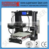 China factory High Precision Industrial DIY 3d Laser Printer machine Price with samples free