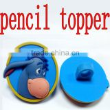 Chic plastic kids pencil topper