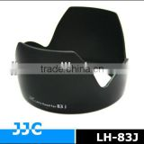 JJC LH-83J Lens Hood for CANON EW-83J used on CANON EF-S 17-55mm f/2.8 IS USM Lens