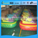 Battery bumper boat for kids in inflatable pool