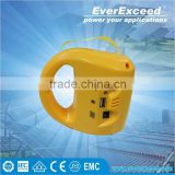 EverExceed LED Solar Lantern home solar system for home lighting with Mobile Phone Charging Function