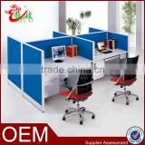 canton fair modern fashion design 4 person office screen call center modular furniture office cubicle partition workstation