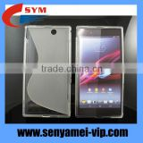 Factory OEM New S line TPU Soft Back Case Cover For Sony Z Ultra XL39h back cover TPU support drop shipping