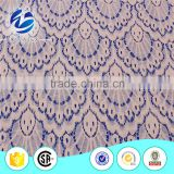 Beautiful Good capacity scallops high quality cotton nylon guipure lace fabric wholesale