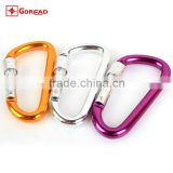 Goread D type Large with lock D8CML aluminum carabiner hook