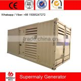 container type 400kw natural gas generator set with CHP system for oilfiled