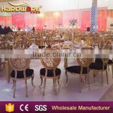 metal carve gold banquet chair for wedding wholesale made in chair                                                                                                         Supplier's Choice