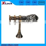 Hollowed-out ball curtain rod, curtain pole, in China (9028H2L2)