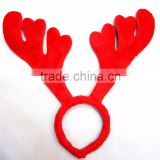 Christmas plush antlers headband