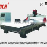 big size cnc router with rotary /200*2000mm rotary /4.5kw spindle /stepper motors/heavy duty structure/T-Slot clamping/Ncstudio