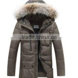 OEM factory 2015 Great quality new men's down jacket coat men clothing for winter down garment