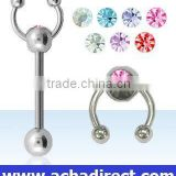 Body jewelry Tongue ring