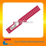 anti-tear paper material security wristbands for events