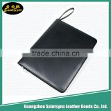 Custom Logo PU Leather Expandable File Folder with Fancy Price leather executive file folder