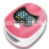 hot selling Kid's Pulse Oximeter stable quality with pink ,yellow and blue color wrist oximeter pulse