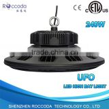 Dimmable Industrial Light Fixture 8 Years Warranty IP67 UL Driver ufo led high bay light