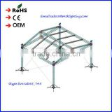 Recycle custom outdoor design aluminum stage lighting truss for wedding/concert stage aluminum truss