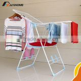 Household space saving clothe rack,Airfoil shape drying racking,Wholesale metal pipe hanger