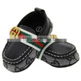 Baby Toddler shoes soft non slip bottom black leather Cotton Mens www.shyosdy.com dn076 fight