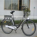 electric bicycle for promotion with CE/EN15194/SGS XY-EB001A woman