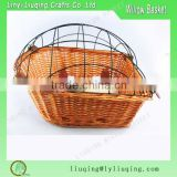 2016 willow wicker bike bicycle storage baskets for dogs