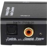 NEW and CHEAPER AUDIO CONVERTER Digital to analog optical toslink coaxial to RCA audio converter