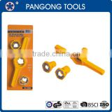 6PC DIE SET PVC screw thread cutting tools for pipes