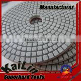 30#-3000# 4inch/100mm diamond wet polishing pad for stone                                                                         Quality Choice