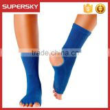 A-287 Non Slip Skid Yoga Socks Anti Slip Cotton Yoga Pilates Socks For Women Yoga Socks With Grip
